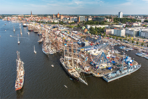 27. Hanse Sail 2017 in Rostock